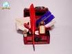 Kit pour sorcier (aux couleurs de gryffondor) inspiration harry potter