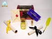 Kit pour sorcier (aux couleurs de poufsouffle) inspiration harry potter