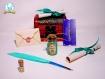Kit pour sorcier (aux couleurs de serpentard) inspiration harry potter