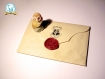 Lot lettre d'admission personnalisée + mini carte du maraudeur d'harry potter