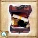 Kit pour sorcier, inspiré d'harry potter, aux couleurs de la maison de poudlard : poufsouffle
