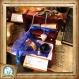 Kit pour sorcier, inspiré d'harry potter, aux couleurs de la maison de poudlard : serdaigle