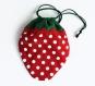 Pochon fraise rouge