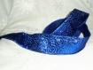 Ruban bleu argenté - spécial fêtes