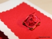 Carte amour rouge passion