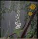 Toile naissance florale peinte à la main