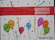 Carte gateau anniversaire