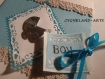 Carte personnalisable welcome to the world boy naissance
