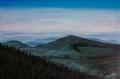 Au coeur de la montagne noire (peinture acylique)