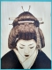 Pyrogravure geisha