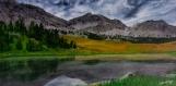 Lac miroir (peinture acylique)