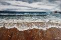 Le murmure des galets (peinture acrylique)