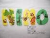 Plaque de porte / lettre à coller / prénom à coller / lettre en bois / prénom en bois theme jungle