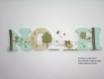 Lettre prénom bois / lettre chambre bébé / lettre décoration chambre / plaque de porte / lettre à coller / prénom à coller / lettre en bois / prénom en bois theme arbres et hiboux 10cm