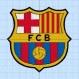 Motif de broderie fc barcelona