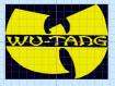 Motif de broderie wu-tang