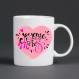 Mug joyeuse fête des mères personnalisable