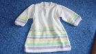 Robe laine layette 8*12 mois