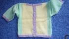 Pull, brassière 6-8 mois, multicolore