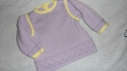 Robe bébé 18 mois, originale, acrylique