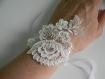 Parure bijoux mariage shabby chic