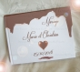 Livre d'or chocolat fondant théme gourmandise à personnaliser