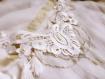 Collier ras de cou en dentelle blanche style vintage romantique mariée/cérémonie