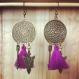B.o. pompons violets