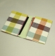 Etui porte-cartes en tissu madras