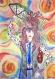 Androgyne, affiche aquarelle décorative