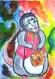 Ratounet, affiche aquarelle décoration chambre d'enfants