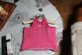 Jolie robe plumetis réalisée pour cliente sur mennecy