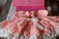 Jolie robe rose parfait pour princesse 3 /6 mois réalisée sur commande cliente à villabé
