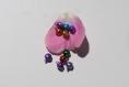 10 grelots multicolores pour couture et décoration. gr3