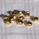 Lot de 10 petits grelots dorés ou breloques.