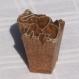 Tampon batik indien en bois sculpté à la main, pochoir, planche à imprimer - btm34