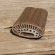 Tampon batik indien en bois sculpté à la main, pochoir, planche à imprimer - btm35