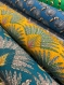 Coussin d'allaitement microbilles au coton imprimé origami graphique taupe