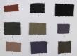 Vanessa bruno style sac cabas veritbales paillettes rondes gris argenté sur tissu imprimé feuilles citron vert