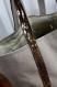 Sac vanessa bruno en toile de coton beige clair et paillettes bronze