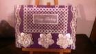 Carte anniversaire en pergamano et décoration fleur en 3d (2)
