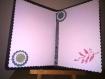 Carte anniversaire en 3d décoration en pergamano (1)