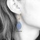 Boucles d'oreille pour femme