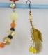 Boucles d'oreilles collection clivia