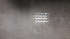 découpe embellissement-  petit bout de mur de briques