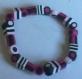 Bracelet bonbons anglais (lilas, mauve, violet)