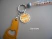 Porte clés personnlasié pour marraine