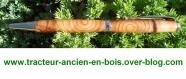 Stylo en bois d'if (noeuds)