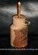 Soliflore bidon a lait en bois massif