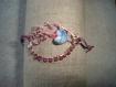 Bracelet fil alu et perles